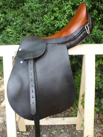 Rénovation d'une selle d'équitation