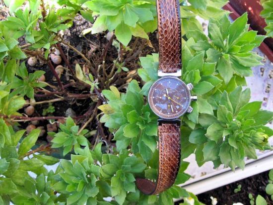 Fabrication d'un bracelet de montre Vuitton